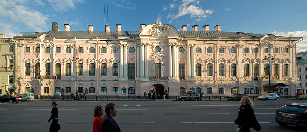 Palác Stroganoff Nižnij Novgorod